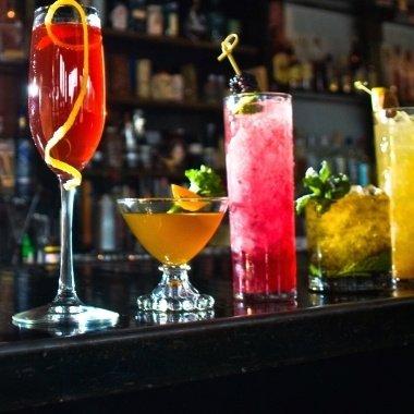 Top 10 cocktailbarer