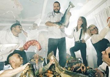 Happy hour på friske østers hos Ristorante L'Imperatore!