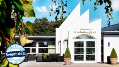 Nyd et ophold på Hotel Faaborg Fjord: Ophold for 2 inkl. morgenbuffet og hovedret