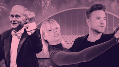 Nytårskoncert og Wienerbal i K.B. Hallen med Danmarks Underholdningsorkester