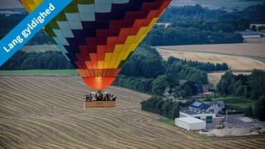 Nyhed: Oplev Danmark fra oven i en luftballon hos DreamBalloon – gælder i 2 år
