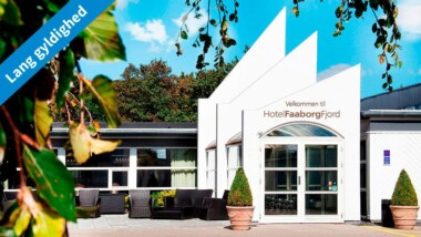 Ophold for 2 på Hotel Faaborg Fjord på Fyn inkl. morgenbuffet og hovedret