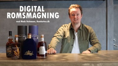Gave til fars Dag: Smag 6 forskellige rom til digital romsmagning – fri fragt