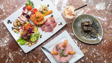Valgfri 3-retters menu og irish coffee til desserten hos Restaurant Eros ved Gråbrødretorv i Kbh.
