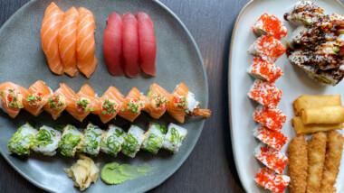 Vælg mellem 36 stk. eller 44 stk. sushi hos Z-Sushi centralt på Østerbro