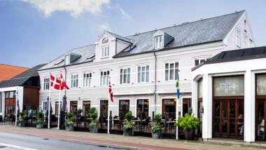 Tag på et ophold på Hotel Ry nær Silkeborg inkl. 5-retters menu og morgenmad
