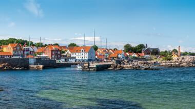 Miniferie på Sandkås Feriecenter på Bornholm