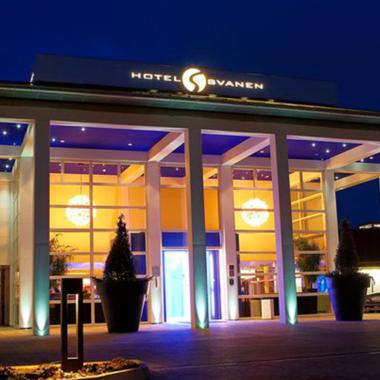 Ophold hotel svanen Billund